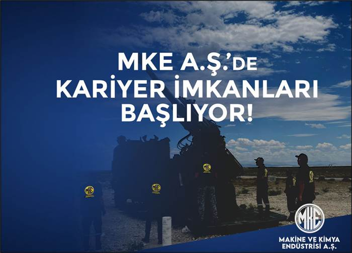 MKE A.Ş. DE KARİYER İMKÂNLARI